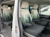 """VW T6/T6.1 seat covers """"Magic Forest"""""""