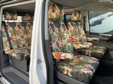 "VW T6/T6.1 seat covers ""Oriental Flamingo"""