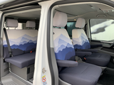 """VW T6/T6.1 seat covers """"Misty Mountains"""""""
