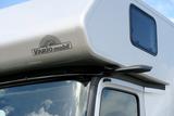Kamerabasiertes Spiegelsystem am Reisemobil VARIO Alkoven