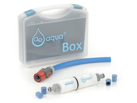 ae aqua Befüllfilter Box
