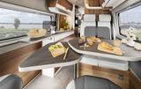 EuroCaravaning VANTourer 2022 600 D Küche Essbereich Tag