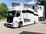 Mercedes Benz ACTROS 1835 RJH Pferdetransporter LKW POP OUT