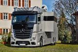 RJH Exclusive ACTROS 2545 Pferdetransporter POP OUT LKW
