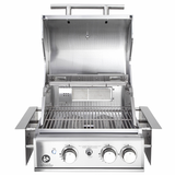 Einbaugrill TOP LINE ALL'GRILL CHEF S BUILT IN mit Air System