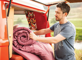 Duvalay Luxus Schlafsack Komfort 4 cm