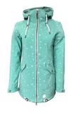 Ladies Softshell Coat Keitum Turquoise Dry Fashion