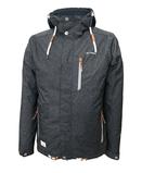 Mens Functional Jacket HusumAnthracite Dry Fashion