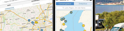 ADAC Camping and Pitch Guide App