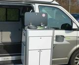 Küchenteil herausnehmbar mit eingebauter Technik