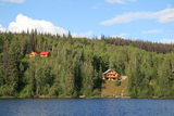 Lodge am See in Kanada