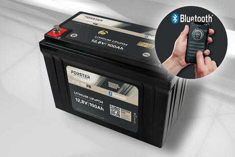 100Ah 12,8V LiFePO4 Standard Lithium Batterie | 100A-BMS | Smart Bluetooth