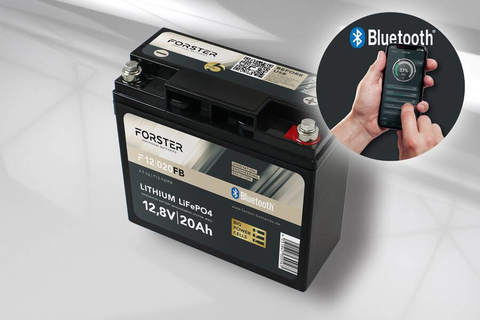 20Ah 12.8V LiFePO4 Standard Lithium Battery | 30A-BMS | Smart Bluetooth