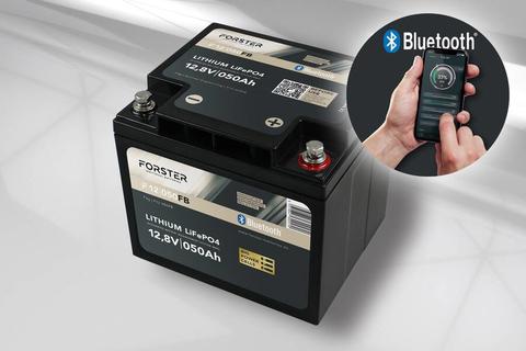 50Ah 12.8V LiFePO4 Standard Lithium Battery | 50A-BMS | Smart Bluetooth