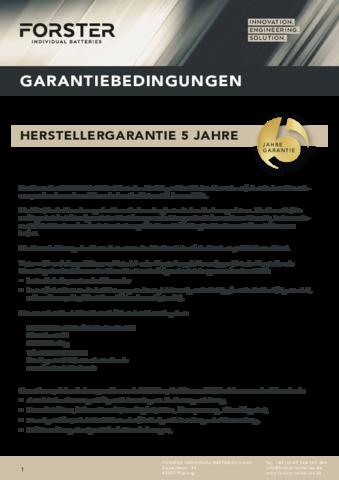 2021 03 01 FORSTER Garantie